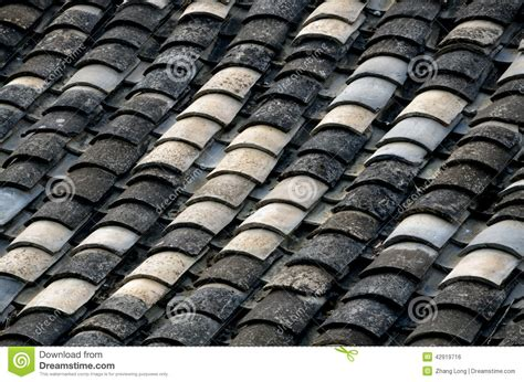 House Plans With Attic chinese style roof tiles stock photo image 42919716