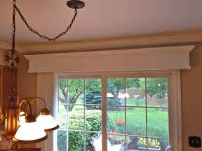 Vertical Blind Cornice Wooden Valance With Vertical Blinds For Patio Door Home