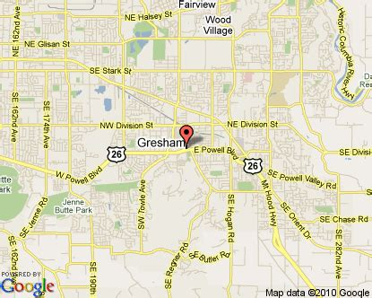 map of gresham oregon gresham oregon