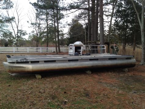 bowfishing boat for sale near me 24ft the sand bar rebuild pontoon forum gt get help with