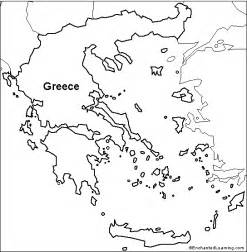 Ancient Greece Blank Map by Pics Photos Blank Map Greece For Kids