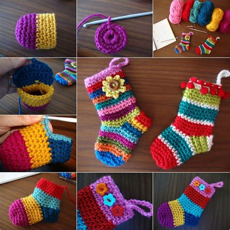 wonderful diy rainbow crochet socks with free pattern