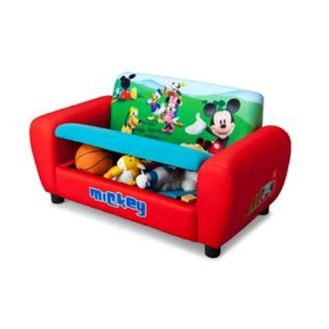 mickey mouse couch delta children disney mickey mouse sofa baby toddler