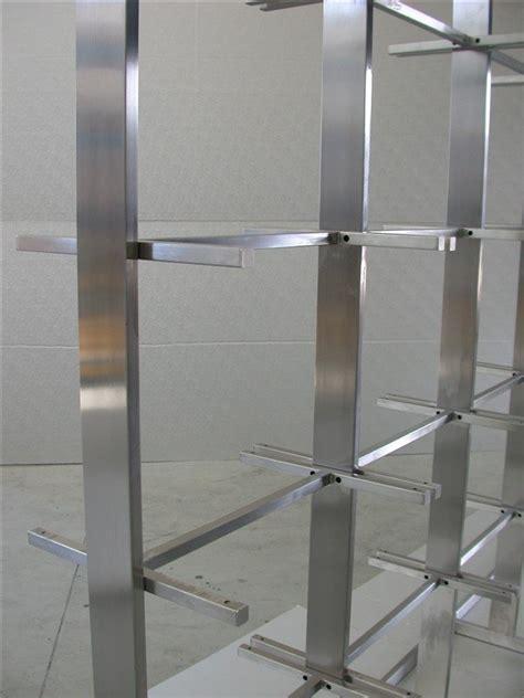 librerie acciaio librerie in metallo libreria design in acciaio cfm