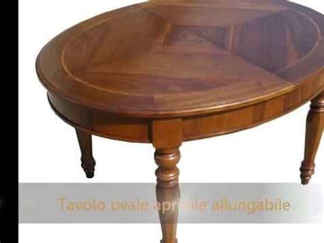 Tavoli Rotondi Allungabili Classici by Tavolo Tavoli Artigianali Allungabili Classici Rotondi
