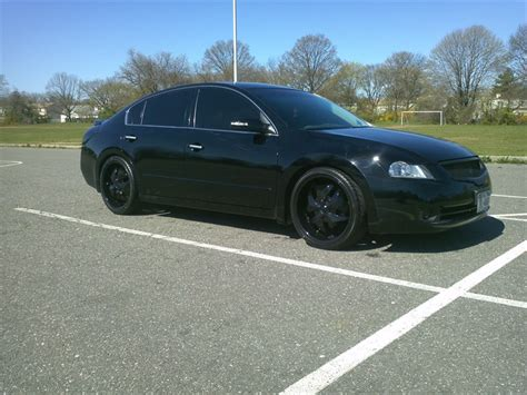 nissan altima blacked out black out 2009 nissan altima specs photos modification