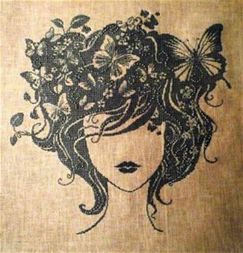 punto croce fiori e farfalle schemi a puntocroce donne fiori e farfalle paperblog