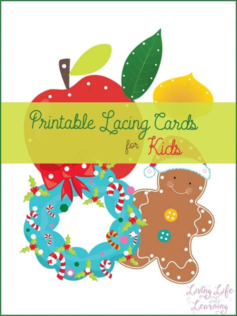 printable christmas lacing cards image gallery lacing cards