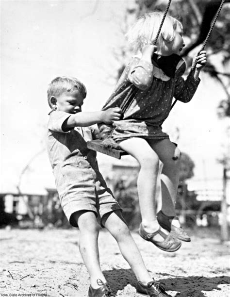 pushing a swing 12 things we were taught as kids that you don t see enough