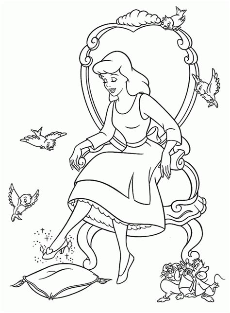 cinderella  prince charming coloring pages coloring home