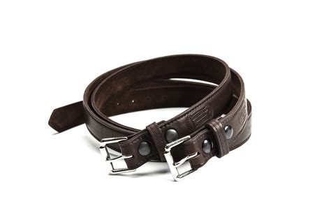 mens leather belts made in usa buffalo billfold company