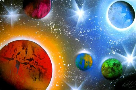 spray paint planets spray paint planets by clanaad on deviantart