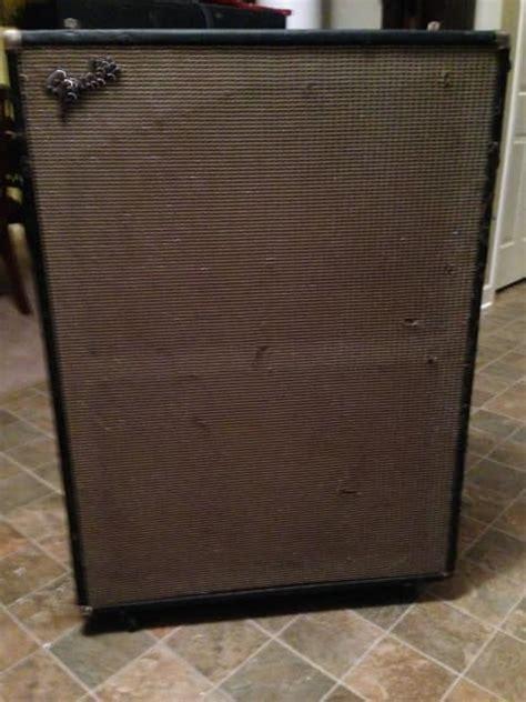 vintage fender speaker cabinets vintage fender bassman v t 15 2x15 quot speaker bass cabinet