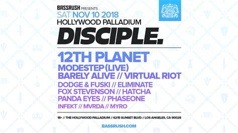 disciple     hollywood palladium   biggest lineup   edm