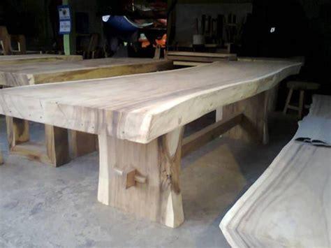 meja kayu solid jepara jati furniture