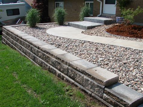 Raised Garden Bed Edging Four Seasons Landscaping Retaining Wall Garden Bed