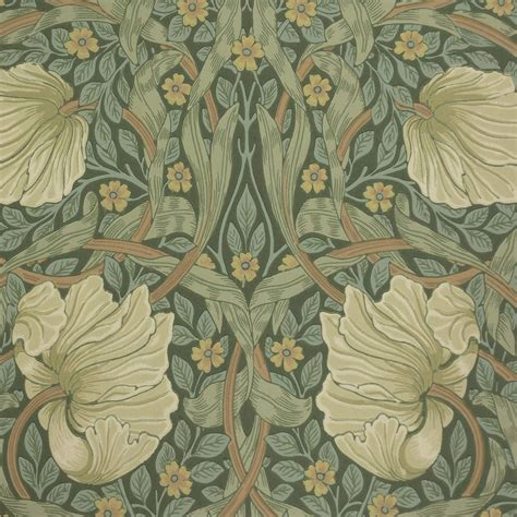Moon Home Decor by Pimpernel Wallpaper Privet Slate 210389 William Morris Amp Co Archive Wallpapers Collection