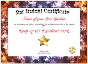Student Certificate Template by Student Certificate