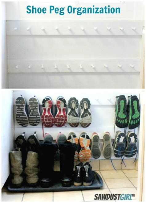 8 creative diy entry shoes storage solutions shelterness 30 creative shoe storage ideas 2017
