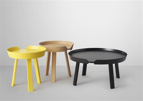 Muuto Around Coffee Table Around Coffee Table Around Table Basse Small 216 45 X H 46 Cm Oak Wood By Muuto