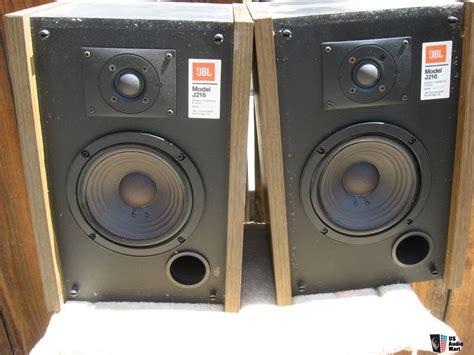 1 pair of jbl j216 bookshelf speakers photo 726720 us