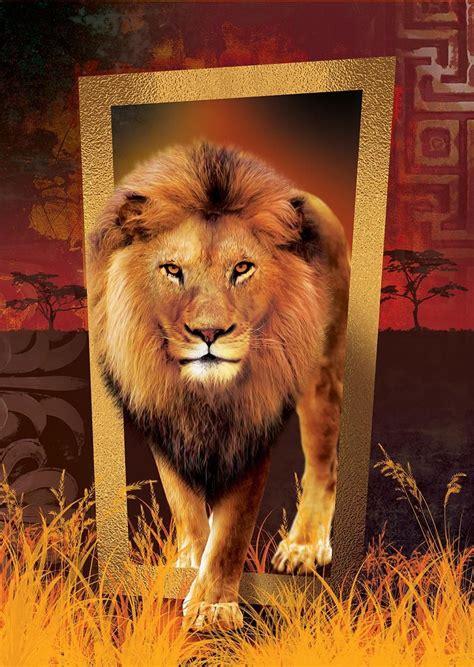 art  parca ormanlar krali aslan puzzle art puzzle