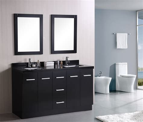designer bathroom vanities adorna 60 inch double sink bathroom vanity set