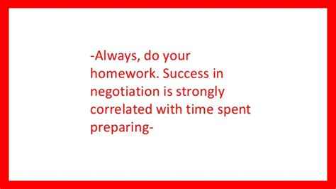 Negotiation Notes Mba by 10 Min Mba Course On Negotiation