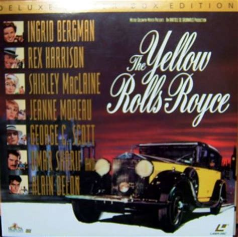 yellow rolls royce movie the yellow rolls royce 1964 on collectorz com core movies