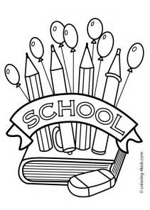 back to school coloring sheets coloring pages free back to school coloring pages for