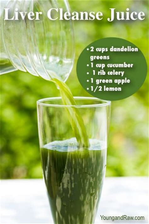 Liver Detox Vegetable Juice Recipes by Dandelions Juice And Bitter On