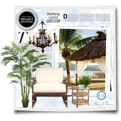 Tropical Coastal Decor quot tropical coastal d 233 cor with calling it home quot by roxy75 on