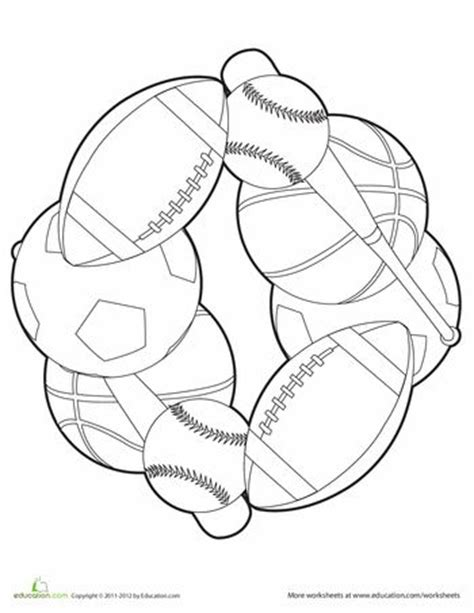 sports coloring pages for kindergarten pinterest the world s catalog of ideas
