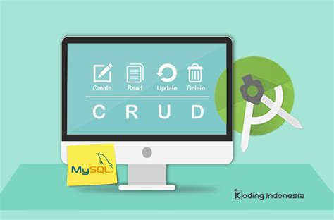 tutorial android crud tutorial crud android dengan mysql koding indonesia