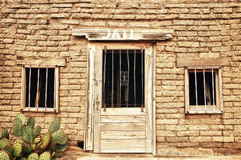 jail house old western jailhouse photograph by james bo insogna