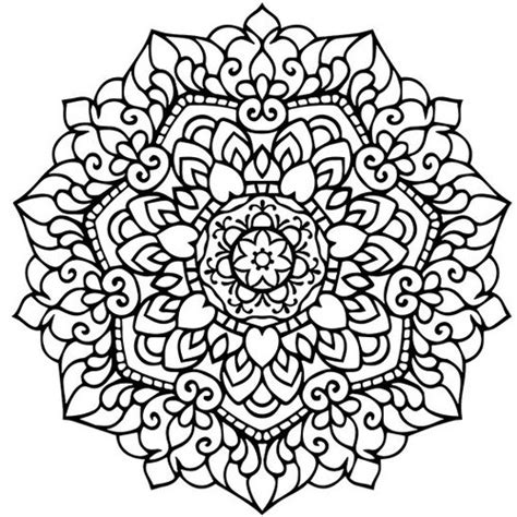 mandala coloring pages therapy mandala coloring page printable pdf от