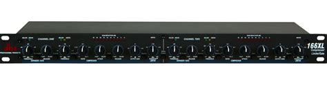 Compressor Gate Dbx dbx 166xl 2 channel compressor limiter with noise gate