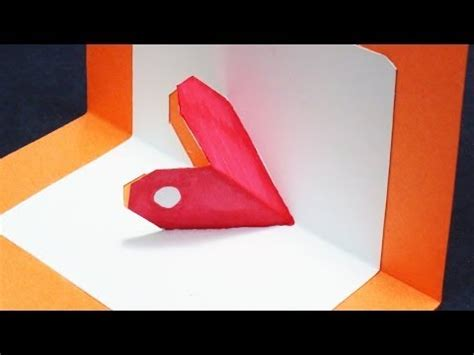 free 3d valentines card templates how to make a pop up card free template