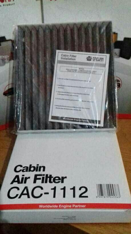 Filter Cabin Ac Mobil Toyota Innova 1 jual filter ac cabin toyota yaris fortuner innova new vios hilux ulilstore