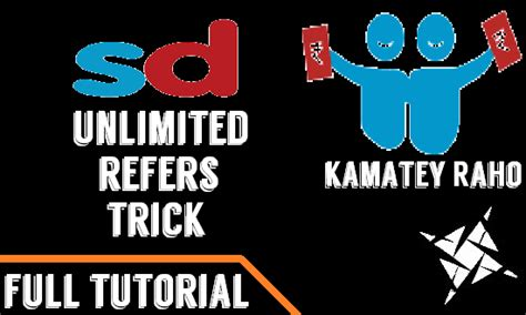 logo tutorial upi tutorial trick to do snapdeal unlimited refers with