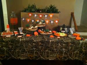 Hunting theme birthday party done pinterest