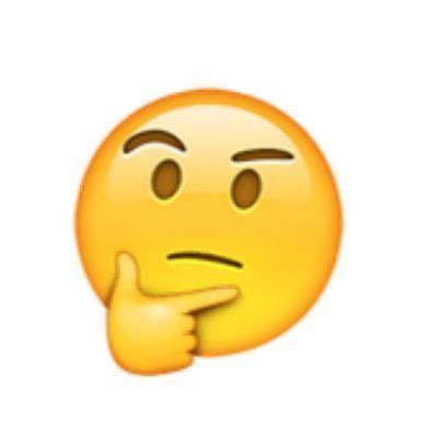imagenes del emoji del monito emoji pensando emoticones smileys pinterest pienso