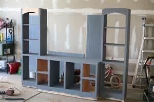 Diy Wall Unit Entertainment Center   woodwork diy entertainment center wall unit plans pdf
