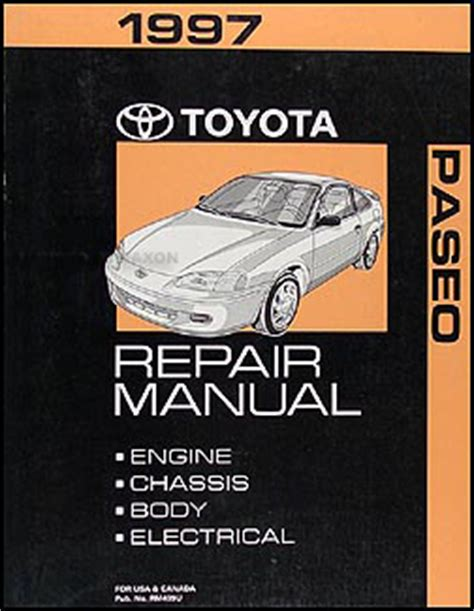 car repair manuals download 1997 toyota tacoma parking system 1997 toyota a c installation manual original corolla tercel paseo celica t100 tacoma 4runner rav4