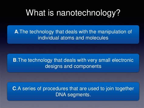 quiz ppt new nanotechnology quiz ppt