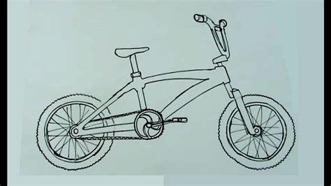 imagenes de bicicletas faciles para dibujar c 243 mo dibujar muy f 225 cil una biciross bicicleta cross bmx