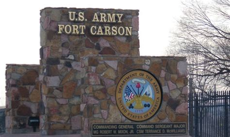 fort carson army base in el paso co complete info