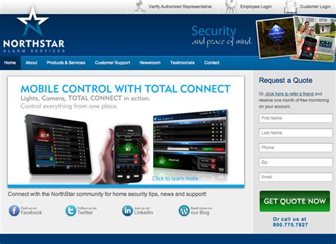 Northstar Home Security by Northstar Alarm Reviews Real Customer Reviews
