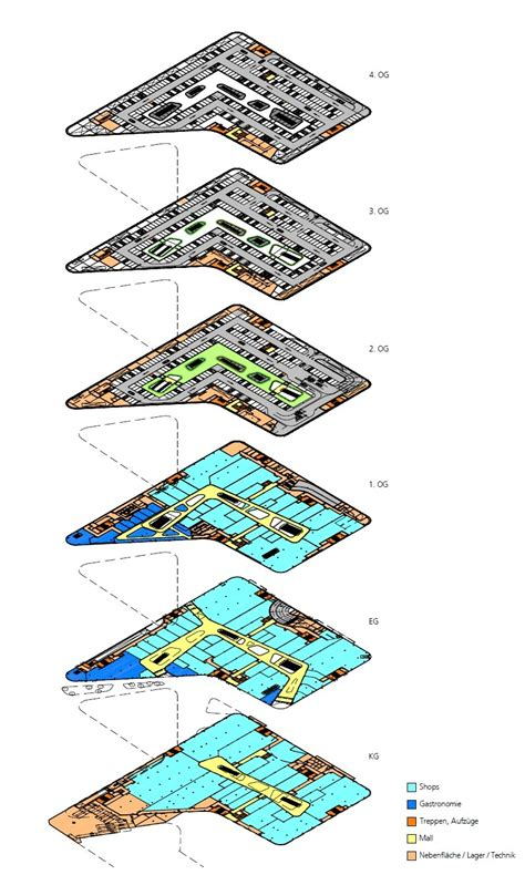 shopping mall floor plan pdf gallery of kulturbau and mall benthem crouwel architects 25