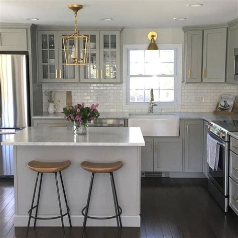 25 best ideas about light grey kitchens on